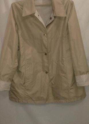 Куртка ветровка двухсторонняя  очень классная (made in vietnam )