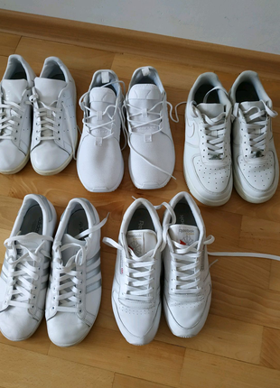 Adidas, Nike, Reebok