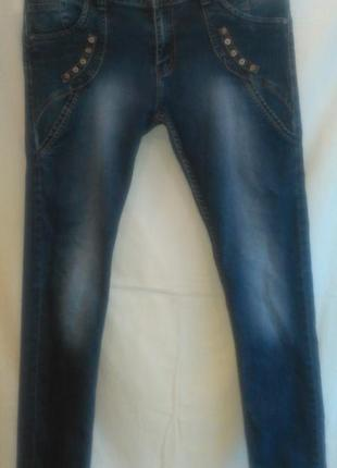 Зауженные  классные  джинсы