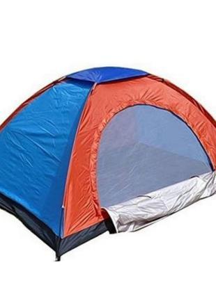 Палатка туристическая 4 местная (200 х 200 х 135) МТР