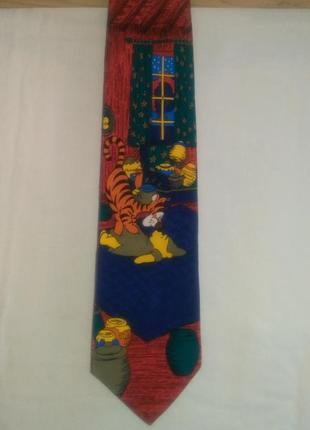 Красивый фирменный галстук (made in italy )