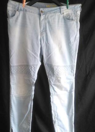 Хорошие фирменные джинсы скинни стрейч