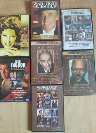 Именная коллекция зарубежного кино. DVD