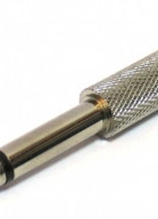 Переходник штекер джек 6,3 на гнездо RCA (тюльпан)
