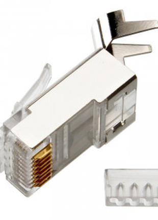 Коннектор Rj45 Cat.6a, Cat7, 23awg. Коннектор для витой пары к...