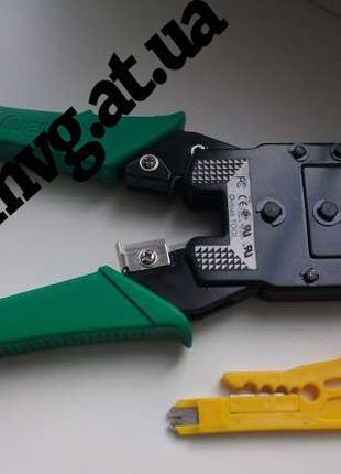 Обжимка, обжимной инструмент установки rj45 rj12 rj11 , сеть, ...