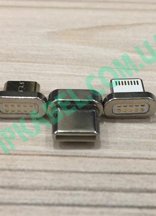 Магнитный переходник на кабель Lightning Iphone универсальный ...