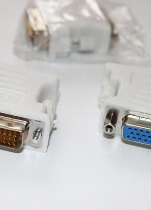 Переходник DVI на VGA.