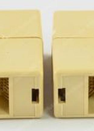 Сгонка удлинитель RJ45 коннектор. Cоединительный модуль rj45. ...