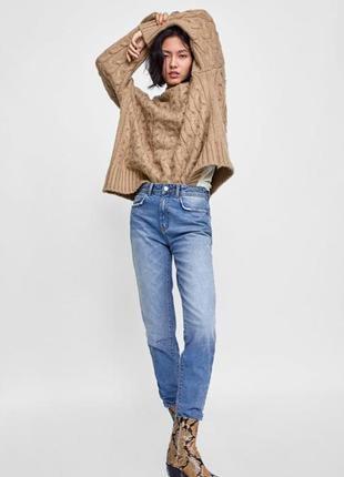 🔥🔥🔥стильные женские джинсы zara basic🔥🔥🔥