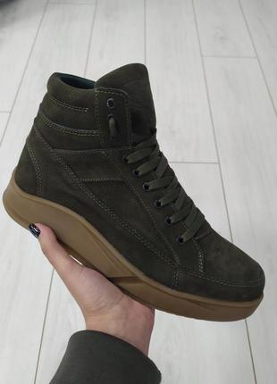 Lux обувь! натуральные мужские зимние ботинки на меху