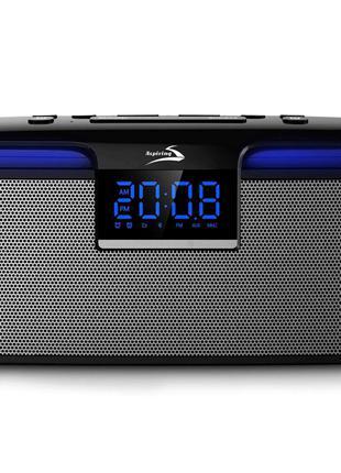 Портативная акустическая колонка с радио подсветкой bluetooth ...