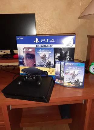 Игровая приставка Sony Playstation 4 Slim, 1Tb .