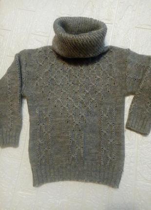 Детский свитер мальчику или девочке