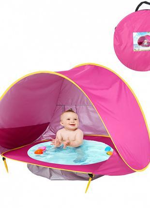 Палатка детская с бассейном автоматическая (WM-BABY POOL) (20)