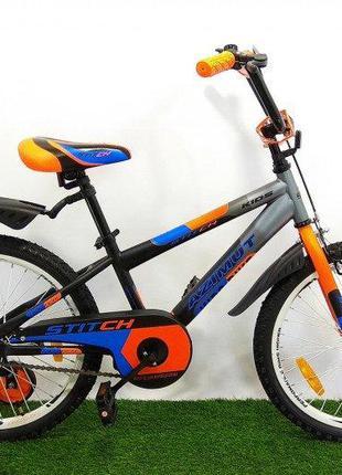 "Детский велосипед Azimut Stitch 20"""