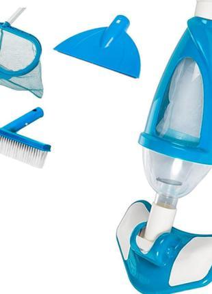 Набор для чистки бассейна Intex 28003, пылесос для очистки дна...