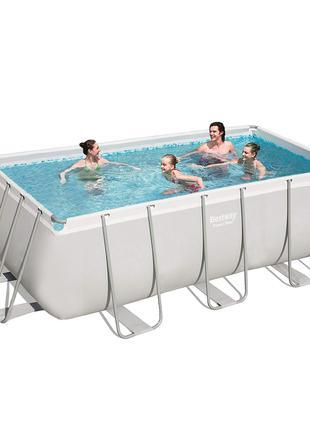 Каркасный бассейн Bestway 56457 - 0 (чаша, каркас), 412 х 201 ...