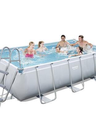 Каркасный бассейн Bestway 56441, 404 х 201 х 100 см (2 006 л/ч...