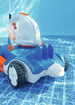 Автоматический беспроводный робот- пылесос для бассейна Bestwa...