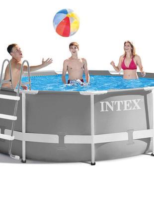 Каркасный бассейн Intex 26706 - 4, 305 х 99 см (2 006 л/ч, лес...