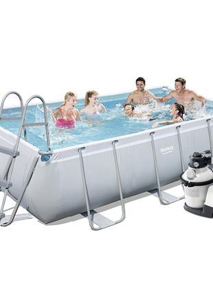 Каркасный бассейн Bestway 56442-6, 404 х 201 х 100 см (4 500 л...