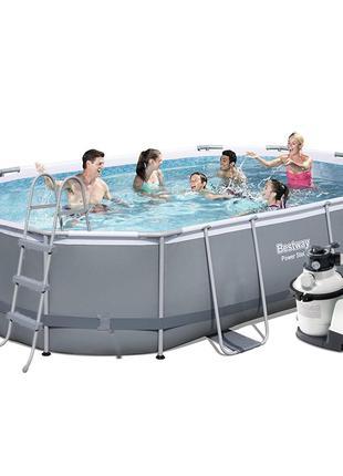 Каркасный бассейн Bestway 56448 - 6, 488 х 305 х 107 см (4 500...