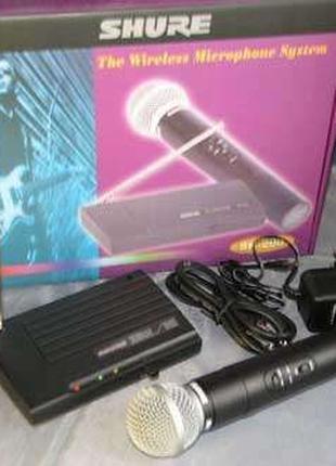 Радиомикрофон радиосистема беспроводной микрофон Shure SH-200