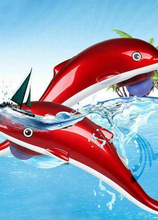"""Инфракрасный ручной массажер """"Дельфин"""" большой 40 см, массажер..."""