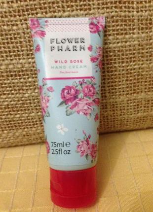 Floral pharm hand cream wild rose, увлажняющий крем для рук с ...