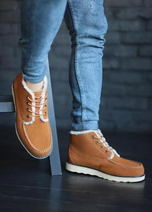 Ugg neumel мужские ботинки с натуральным мехом /осень/зима/весна😍