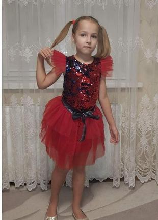 Шикарный нарядный костюм, комплект платье с накидкой