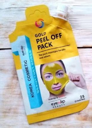 Eyenlip gold peel off pack маска пленка золото 25 г