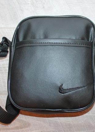 Барсетка, эко кожа, мужская сумка, сумка на плечо