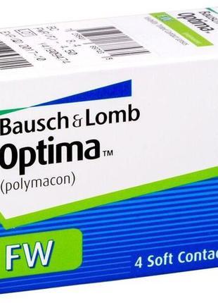 Контактная линза optima, bausch and lomb usa