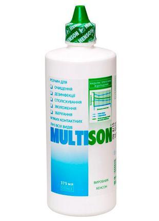 Раствор multison  для всех типов мягких контактных линз
