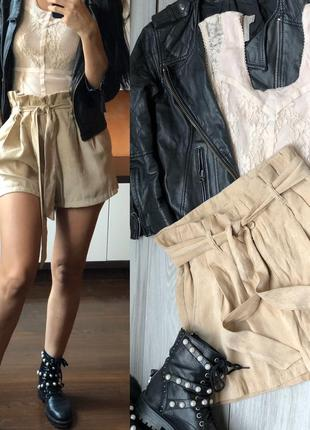 Стильные шорты под замш h&m sm