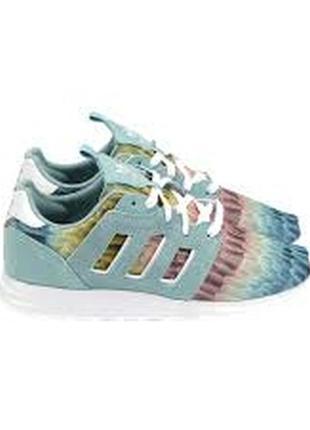 Яркие замшевые кроссовки adidas zx 500 № b2590138 разм