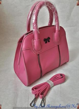 Новая с биркой фирменная сумка в розовом цвете среднего размер...