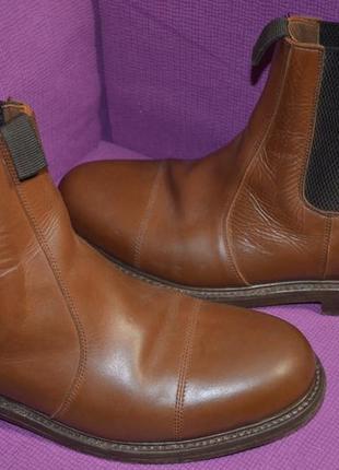 Мужские сапоги ботинки челси из натуральной кожи harewood 43 р.