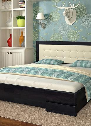 """Ліжко двоспальне """"Регіна"""" нове, фабричне, під матр 160/200, сосна"""
