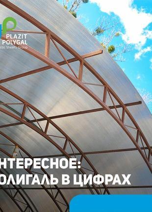 Сотовый поликарбонат Полигаль СТАНДАРТ
