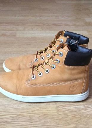 Кожаные ботинки timberland оригинал 36 размера