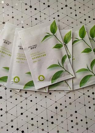 Тканевая маска чай