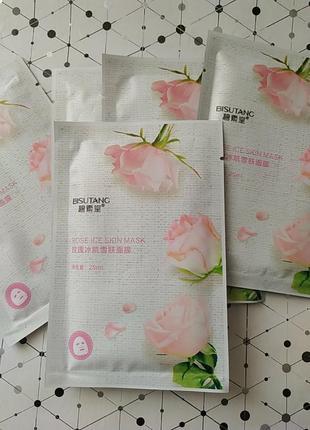 Тканевая маска роза