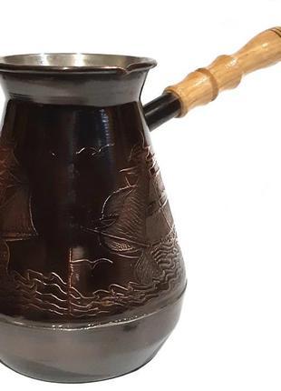 Распродажа! Турка для кофе медная