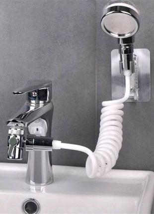 Душевая насадка на кран с гибким шлангом набор для подключения