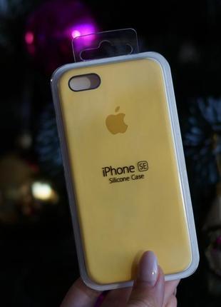 Чехол iphone 5/5s/se silicone case