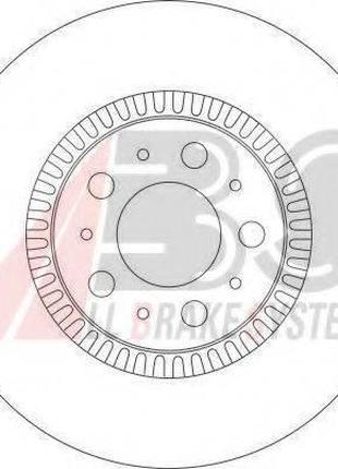 Тормозной диск A.B.S. 17012 на VOLVO V70 (LV)