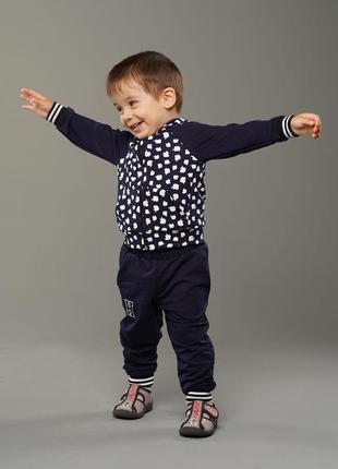 Берти - детский спортивный костюм, цвет синий